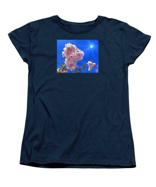 Cherry Blossoms  Women's T-Shirt (Standard Cut)