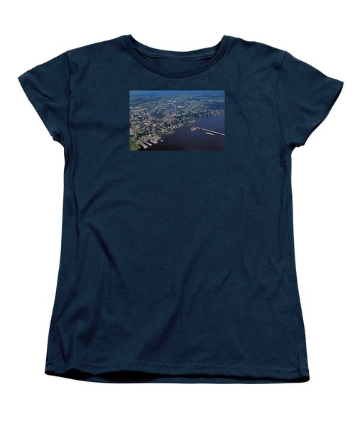 Chestertown Maryland Women's T-Shirt (Standard Cut) by Skip Willits