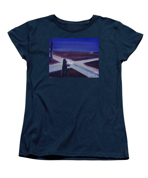 Crossroads Women's T-Shirt (Standard Cut) by Lizi Beard-Ward