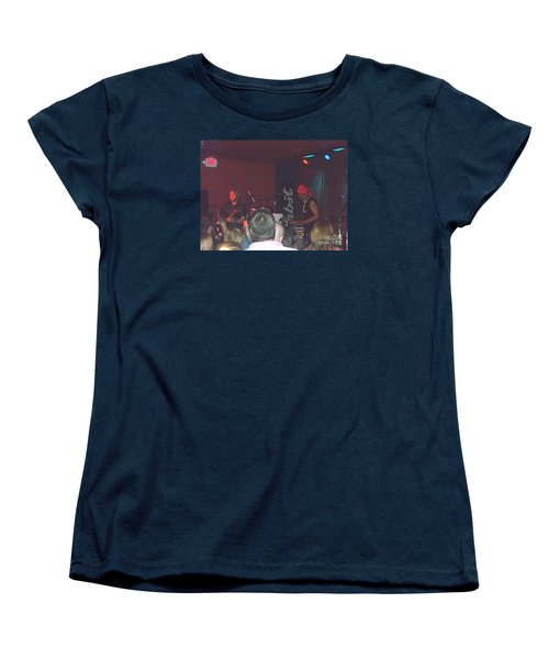 Devon Allman And Cyril Neville Women's T-Shirt (Standard Cut) by Kelly Awad