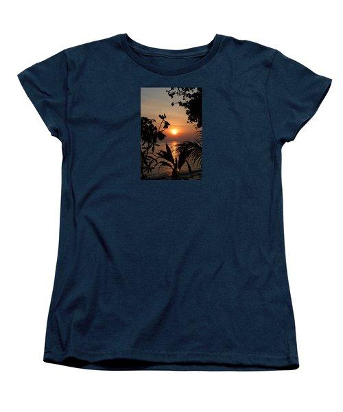 Evening Sun Women's T-Shirt (Standard Cut) by Elizabeth Lock