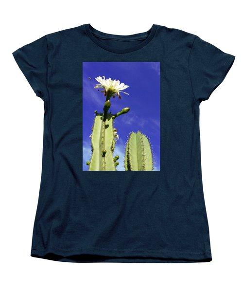 Flowering Cactus 2 Women's T-Shirt (Standard Cut) by Mariusz Kula