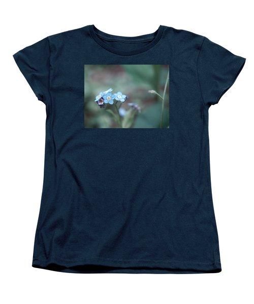 Forget Me Not Women's T-Shirt (Standard Cut) by Rachel Mirror