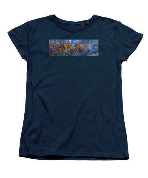 Four Seasons Women's T-Shirt (Standard Cut) by Claudia Goodell