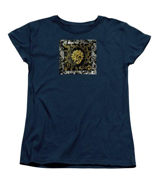Women's T-Shirt (Standard Cut) featuring the photograph Golden God by Nareeta Martin