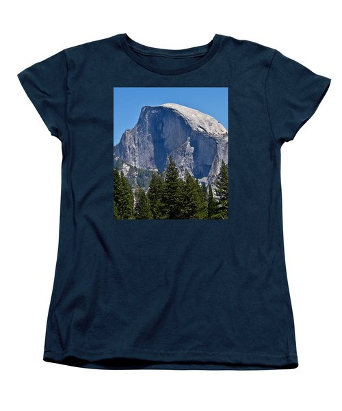 Women's T-Shirt (Standard Cut) featuring the photograph Half Dome by Brian Williamson