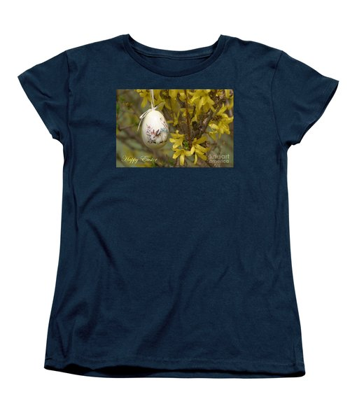 Happy Easter Women's T-Shirt (Standard Cut) by Living Color Photography Lorraine Lynch