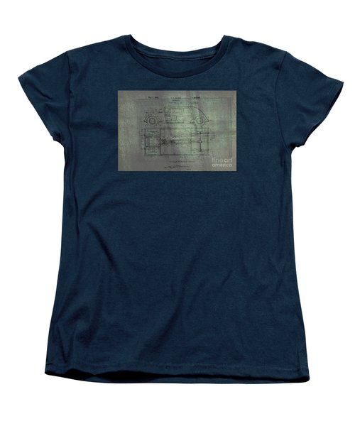 Harleigh Holmes Automobile Patent From 1932 Women's T-Shirt (Standard Cut)