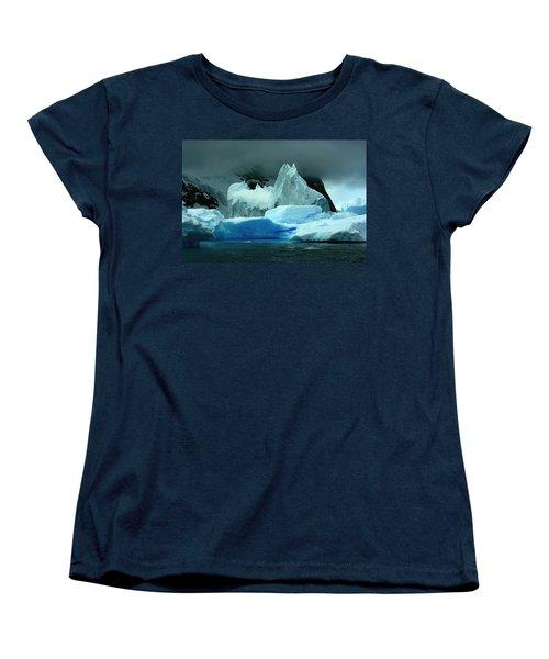 Women's T-Shirt (Standard Cut) featuring the photograph Iceberg by Amanda Stadther
