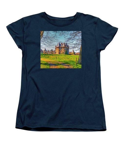Chateau De Landale Women's T-Shirt (Standard Cut) by Elf Evans