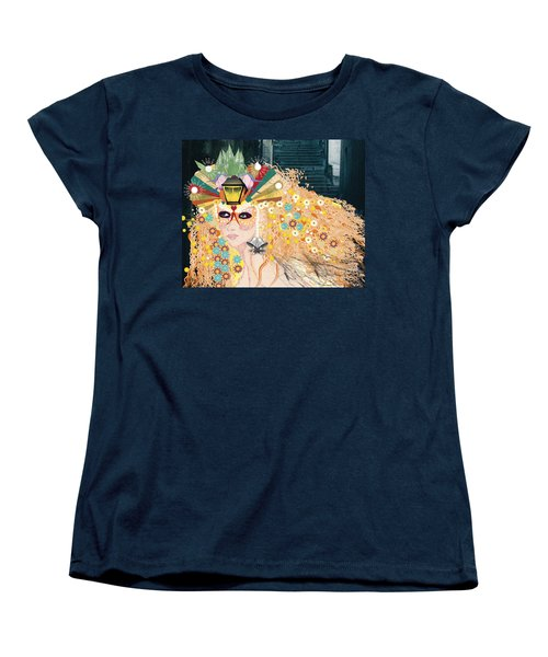 Lantern Fairy Women's T-Shirt (Standard Cut) by Kim Prowse