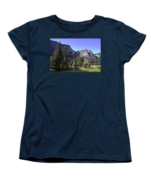 Women's T-Shirt (Standard Cut) featuring the photograph 1 Lone Rafter by Brian Williamson