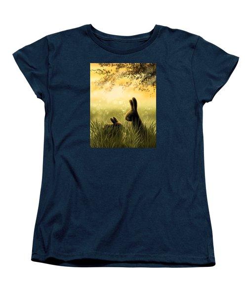 Love Women's T-Shirt (Standard Cut) by Veronica Minozzi