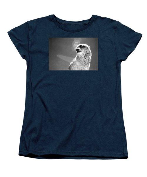 Women's T-Shirt (Standard Cut) featuring the photograph Medicine Wolf by Deborah Moen