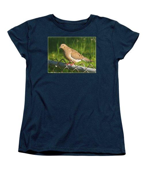 Morning Dove I Women's T-Shirt (Standard Cut) by Debbie Portwood