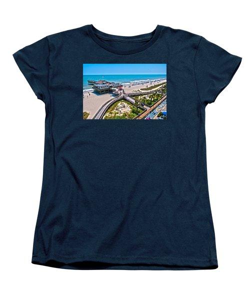Women's T-Shirt (Standard Cut) featuring the photograph Myrtle Beach South Carolina by Alex Grichenko
