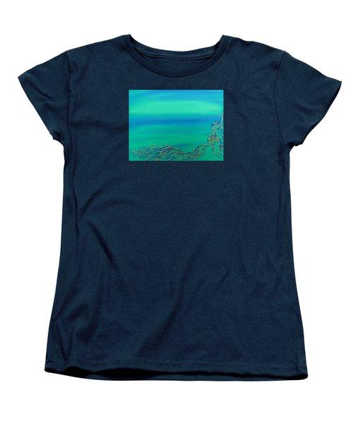 Nerissa Women's T-Shirt (Standard Cut) by Robert Nickologianis