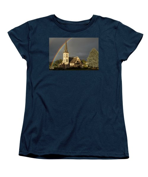 Newman United Methodist Church Women's T-Shirt (Standard Cut) by Mick Anderson
