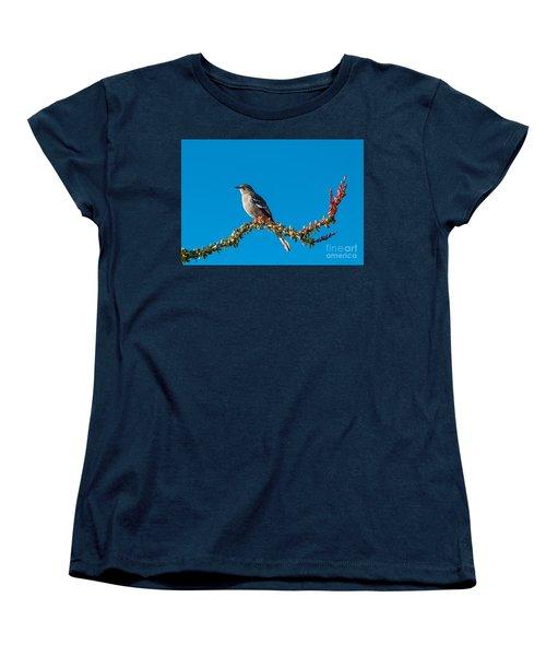 Northern Mockingbird Women's T-Shirt (Standard Cut) by Robert Bales