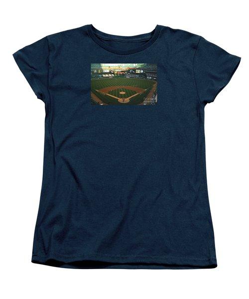 Old Busch Field Women's T-Shirt (Standard Cut) by Kelly Awad