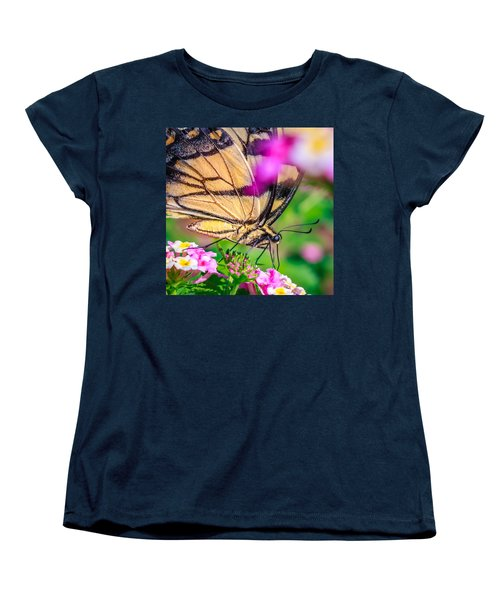 Women's T-Shirt (Standard Cut) featuring the photograph Papilio Glaucus by Rob Sellers