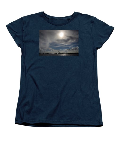 Women's T-Shirt (Standard Cut) featuring the photograph Pass Manchac by Charlotte Schafer