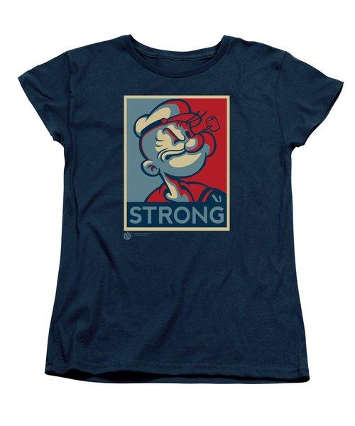 Popeye - Strong Women's T-Shirt (Standard Cut) by Brand A