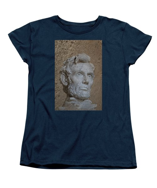 President Lincoln Women's T-Shirt (Standard Cut) by Skip Willits