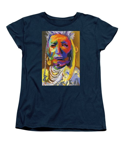 Proud Native American II Women's T-Shirt (Standard Cut) by Stephen Anderson