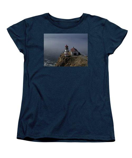 Pt Reyes Lighthouse Women's T-Shirt (Standard Cut) by Bill Gallagher