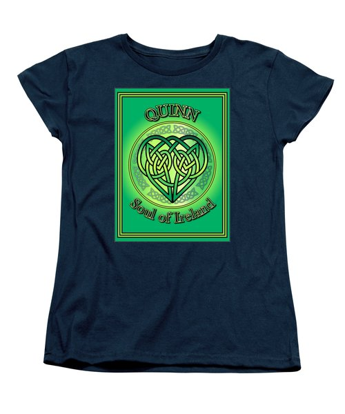Quinn Soul Of Ireland Women's T-Shirt (Standard Cut) by Ireland Calling
