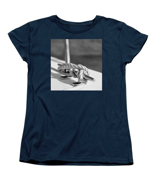 Sailor's Knot Square Women's T-Shirt (Standard Cut) by Laura Fasulo