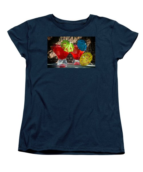 Shirley Temple Cocktail Women's T-Shirt (Standard Cut) by Iris Richardson