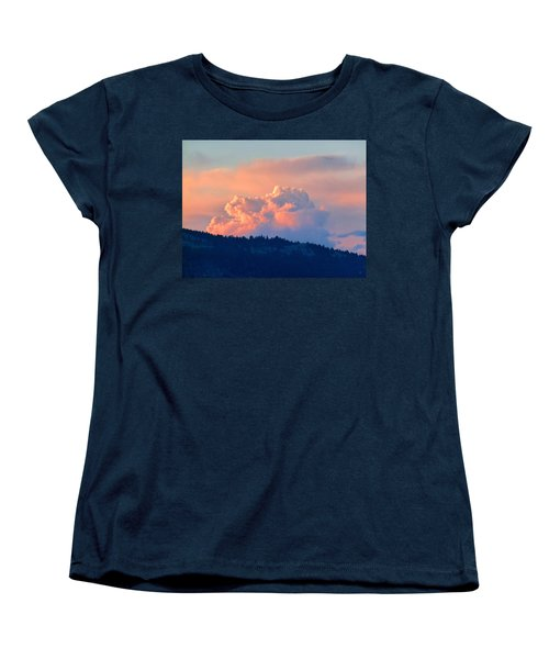 Soothing Sunset Women's T-Shirt (Standard Cut) by Will Borden