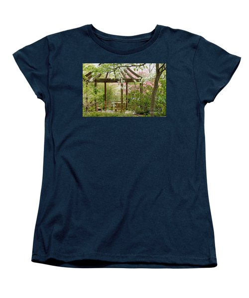Spring Seating Women's T-Shirt (Standard Cut) by Living Color Photography Lorraine Lynch