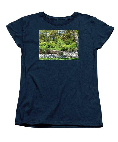 Stone Wall 1 Women's T-Shirt (Standard Cut) by David Trotter