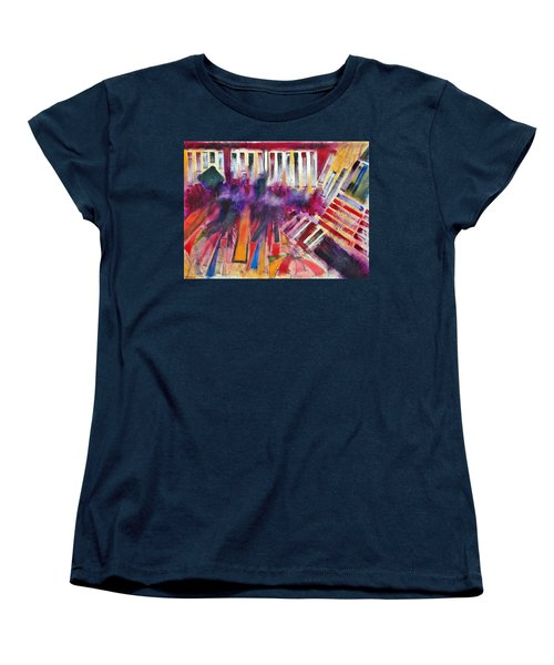 Women's T-Shirt (Standard Cut) featuring the painting Storm Brewer by Jason Williamson