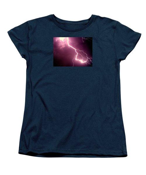 Lightning Women's T-Shirt (Standard Cut)