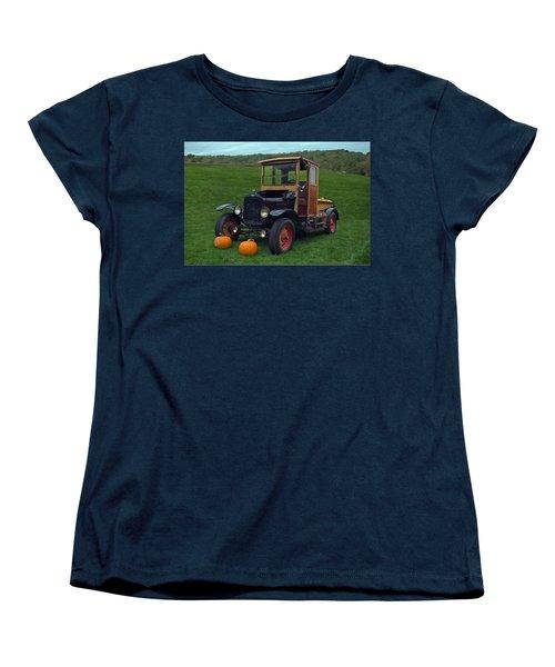 1922 Ford Model T Truck Women's T-Shirt (Standard Cut) by Tim McCullough