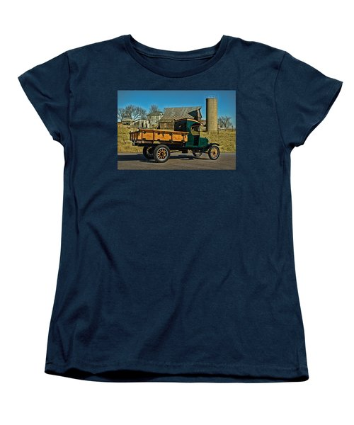 1923 Ford Model Tt One Ton Truck Women's T-Shirt (Standard Cut) by Tim McCullough
