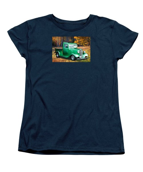 1934 Chev Pickup Women's T-Shirt (Standard Cut) by Richard Farrington