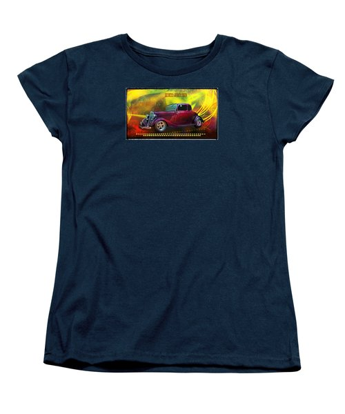 1934 Ford 5 Window Gennie Women's T-Shirt (Standard Cut) by Richard Farrington