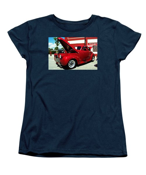 1940 Chevy Women's T-Shirt (Standard Cut) by Kevin Fortier