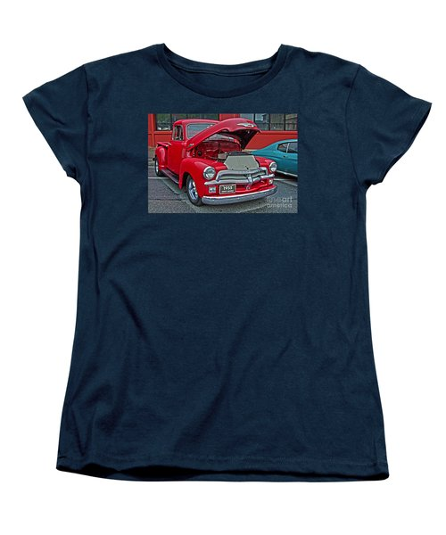 1955 First Series Women's T-Shirt (Standard Cut) by Sonya Lang