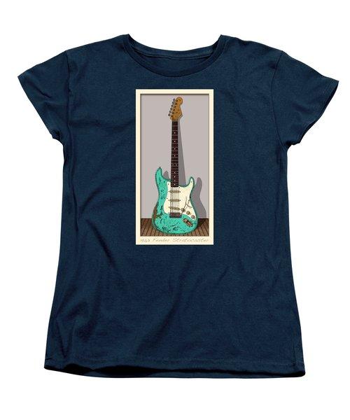 Women's T-Shirt (Standard Cut) featuring the digital art 1963 by WB Johnston