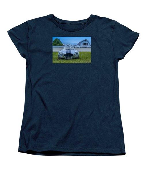 1965 Ford Shelby Cobra American Roadster Women's T-Shirt (Standard Cut) by Ken Morris