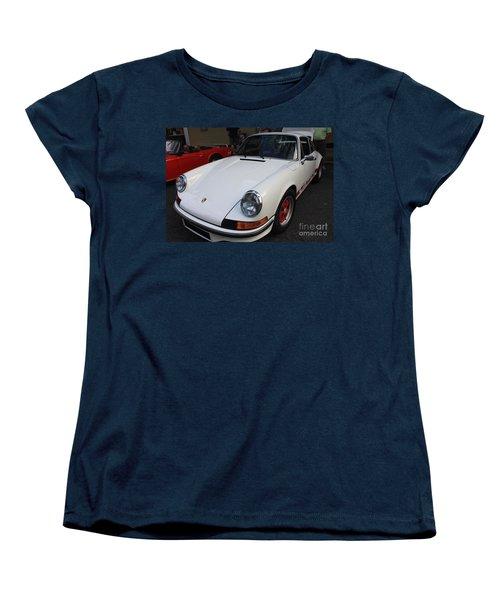1973 Porsche Women's T-Shirt (Standard Cut) by John Telfer