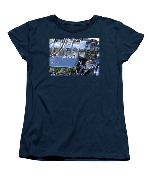 Women's T-Shirt (Standard Cut) featuring the photograph 502 Big Block by Chris Thomas