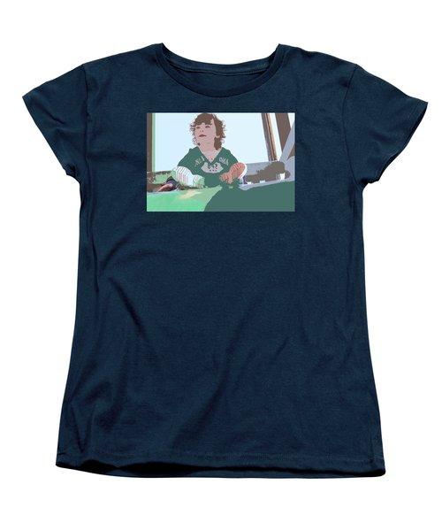 Altogether Women's T-Shirt (Standard Cut) by Nick David