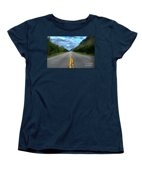Women's T-Shirt (Standard Cut) featuring the photograph Cabot Trail by Joe  Ng